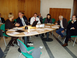 Catania MedNet workshop: one of the working sessions