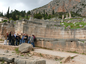 Athens MedNet workshop – visit to Delphi