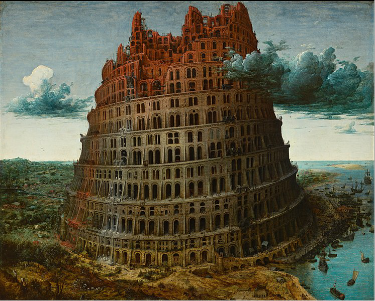 Pieter Bruegel the Elder - The Tower of Babel (Rotterdam) - Google Art Project